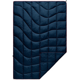 Rumpl Nanoloft Puffy Blanket Travel, deepwater